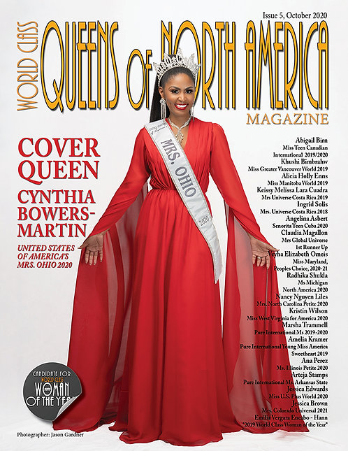 Issue 5 World Class Queens of North America Magazine