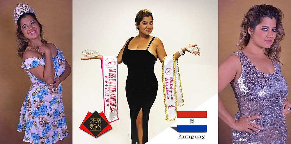 World Class Beauty Queens Magazine, Janinne Pérez González Miss Petite Américas Paraguay 2019