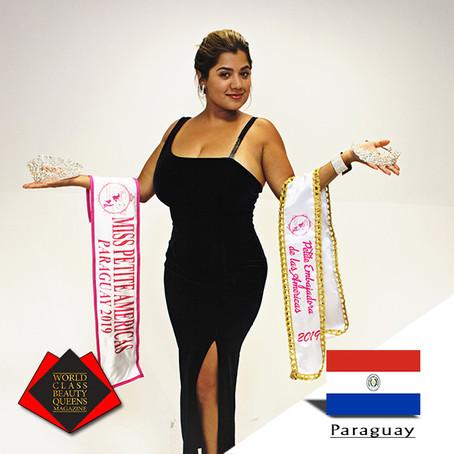 Janinne Pérez González Miss Petite Américas Paraguay 2019