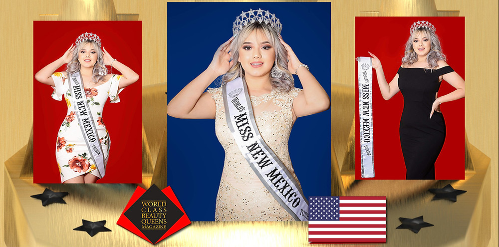 Daisy Cervantes Worlds Miss New Mexico Tourism 2020, World Class Beauty Queens Magazine