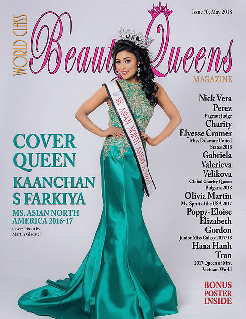 Issue 70 World Class Beauty Queens Magazine