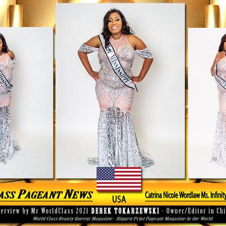 Catrina Nicole Wordlaw Ms. Infinity Mississippi 2020-2021