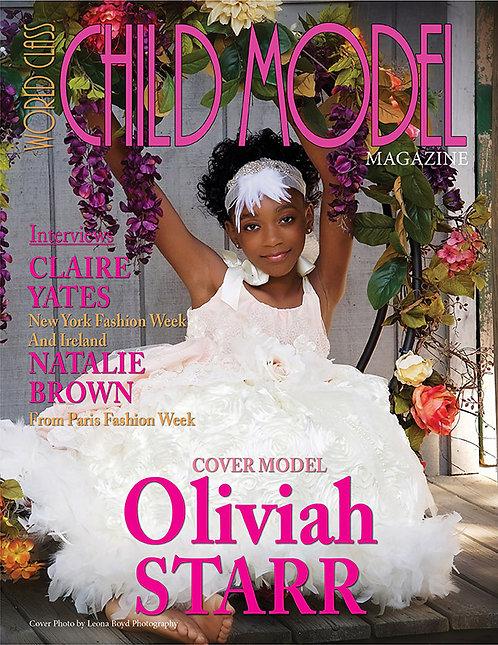 Issue 1 World Class Child Model Magazine