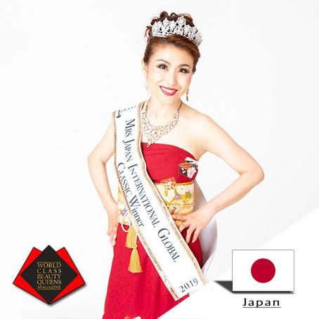 Masako Sasagawa Mrs Japan International Global 2019