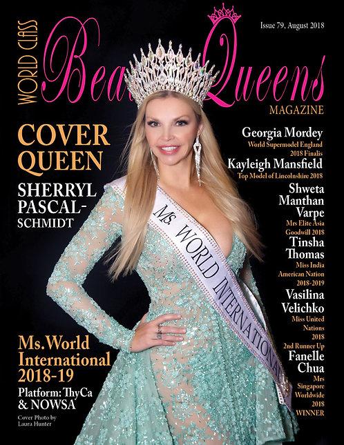 Issue 79 World Class Beauty Queens Magazine