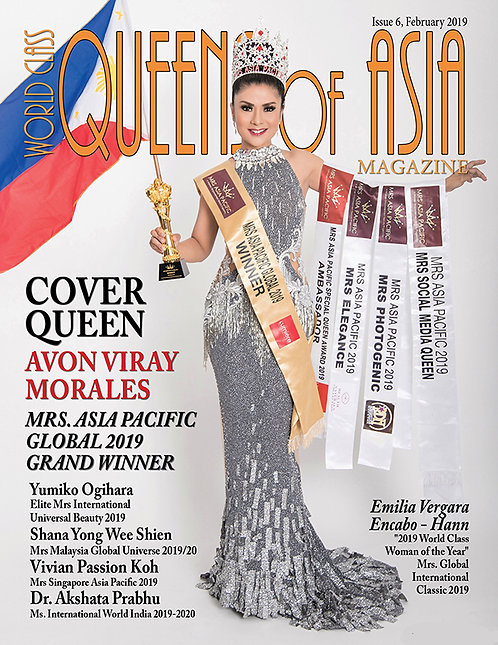 Issue 6 World Class Queens of Asia Magazine