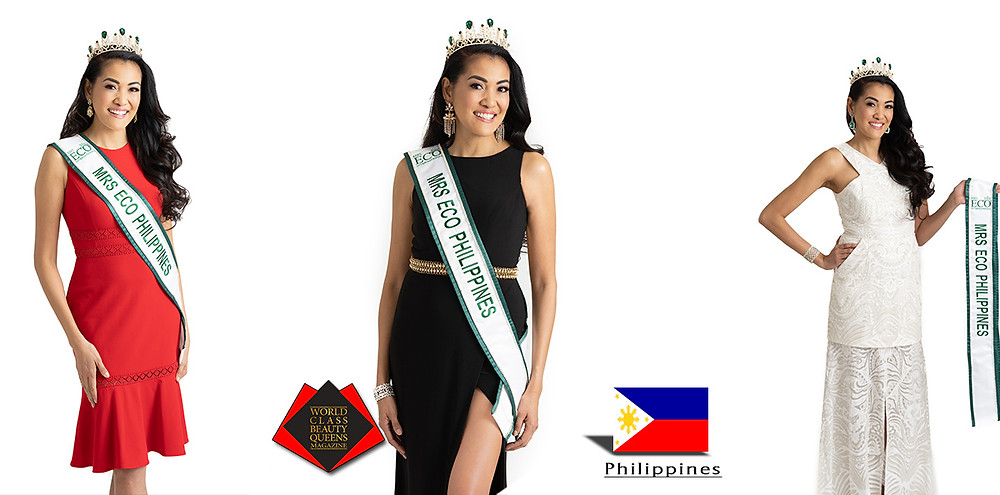 Shiela DeForest, Mrs ECO Philippines 2019, World Class Beauty Queens Magazine,