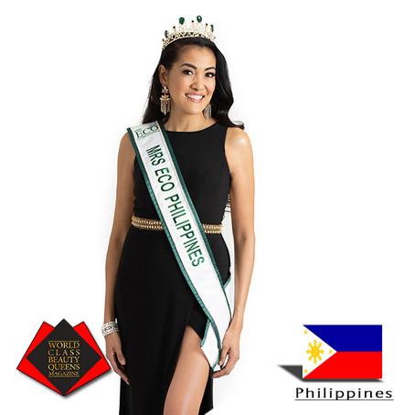 Shiela DeForest Mrs. ECO Philippines 2019