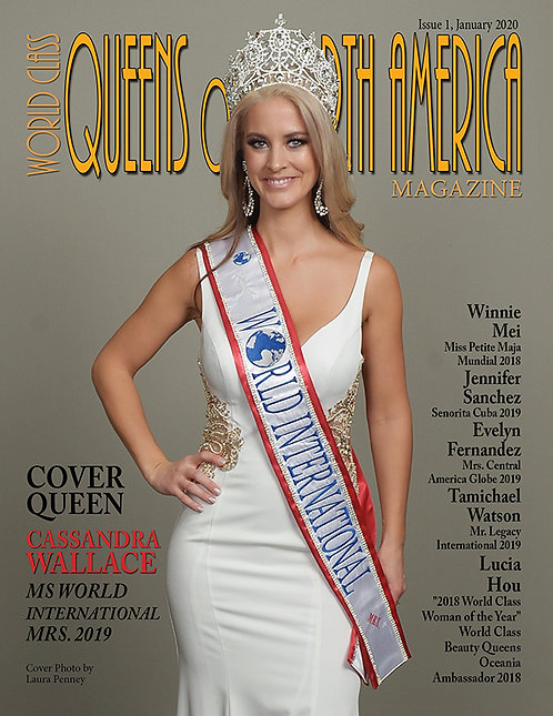 Issue 1 World Class Queens of North America Magazine