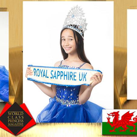 Alyssa Dean Junior MissRoyal Sapphire United Kingdom2019-2020