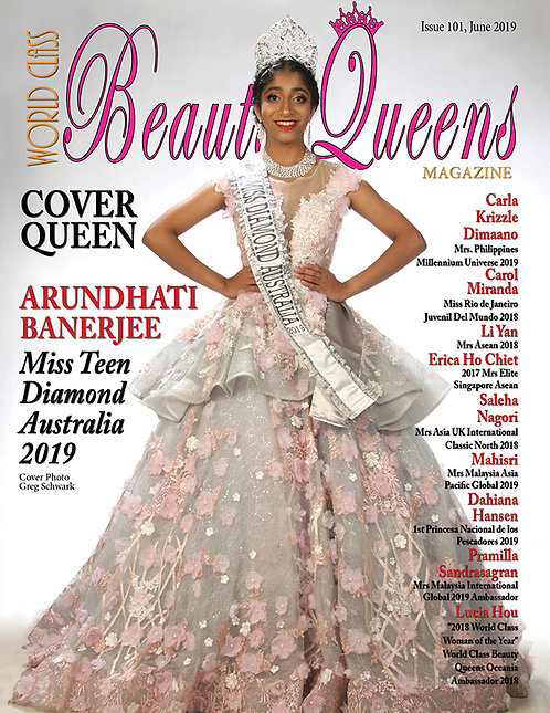 Issue 101 World Class Beauty Queens Magazine