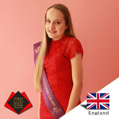 Katie Donnelly Miss Teen Northamptonshire Galaxy 2018-2019