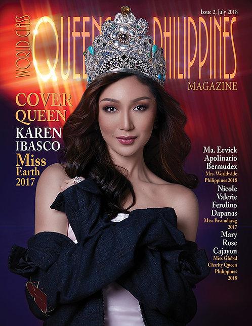 Issue 2 World Class Queens of Philippines Magazine
