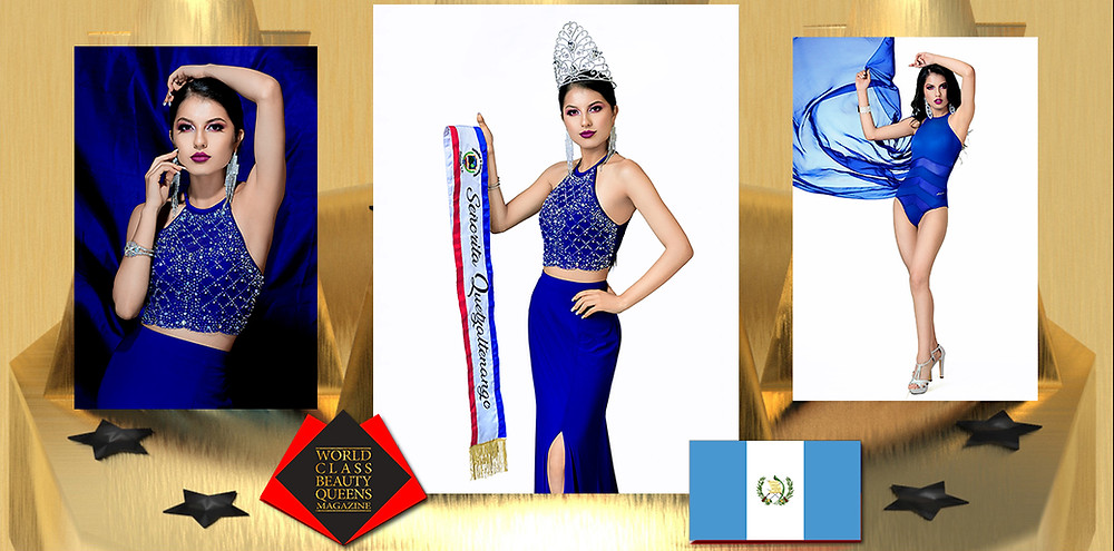 Lucia de los Angeles Alvarado Cayax Miss Quetzaltenango 2019-2021, World Class Beauty Queens Magazine,