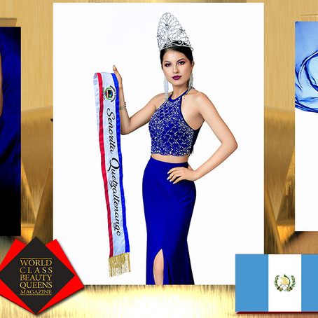 Lucia de los Angeles Alvarado Cayax Miss Quetzaltenango 2019-2021