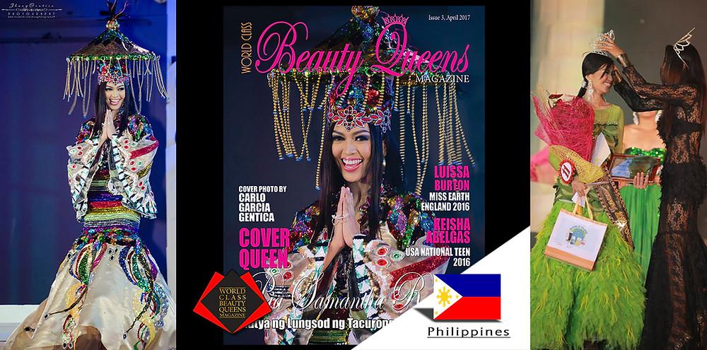 Pia Samantha Roldan Mutya ng Lungsod ng Tacurong 2012 Tourism, World Class Beauty Queens Magazine,