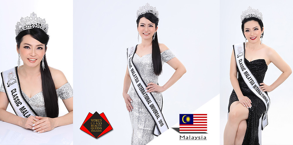 Tham Choi Kuen Classic Malaysia International Universal 2019, World Class Beauty Queens Magazine,