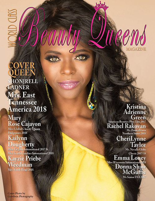Issue 53 World Class Beauty Queens Magazine