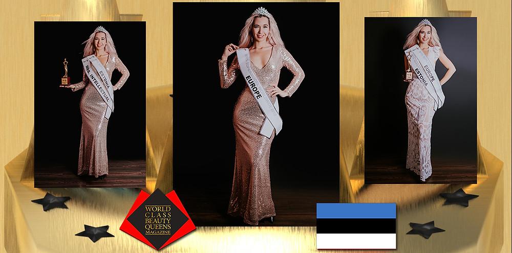 Margit Liiv Mrs Supermodel Europe 2019 , World Class Beauty Queens Magazine,