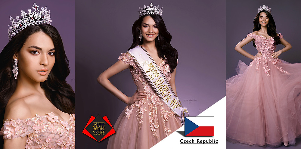 Tamila Khodjaeva Miss Global 2018 2nd runner-up, World Class Beauty Queens Magazine, Photo by Magdalena Jana Fiala