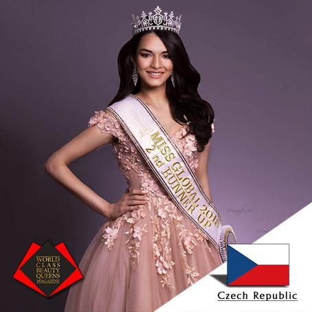 Tamila Khodjaeva Miss Global 2018 2nd runner-up