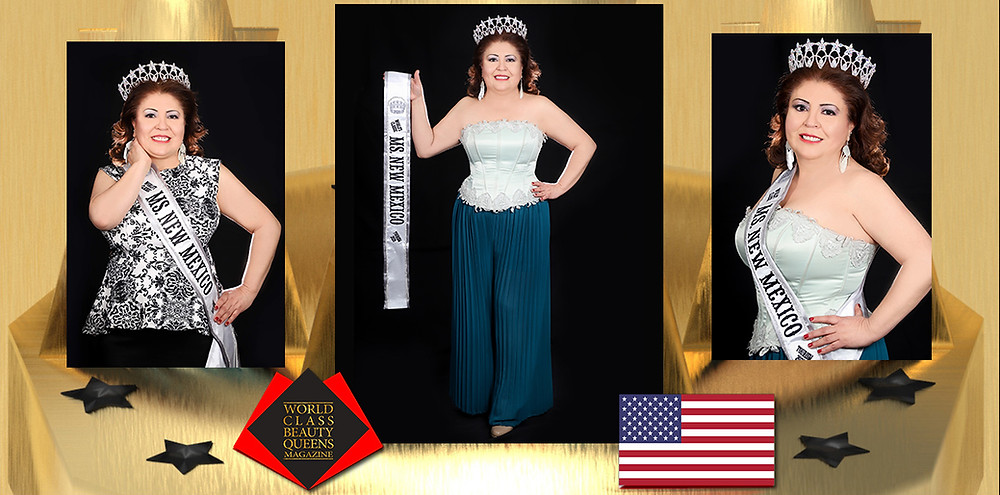 Evangelina Marquez Mejia World's Classic Ms. New Mexico Tourism 2020, World Class Beauty Queens Magazine,
