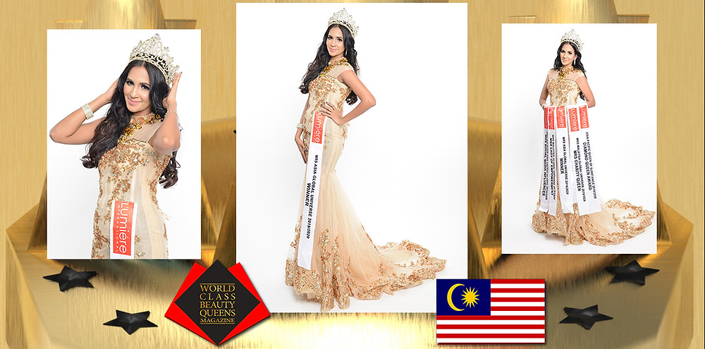 Subhashini Rama Linggam Mrs Asia Global Universe 2019/20, World Class Beauty Queens Magazine,