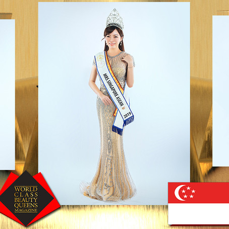 Kee Wern Shing KymmieTKS Mrs Singapore ASEAN2019