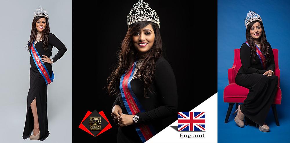 Saleha Nagori Mrs Asia UK International Classic North 2018 , World Class Beauty Queens Magazine,