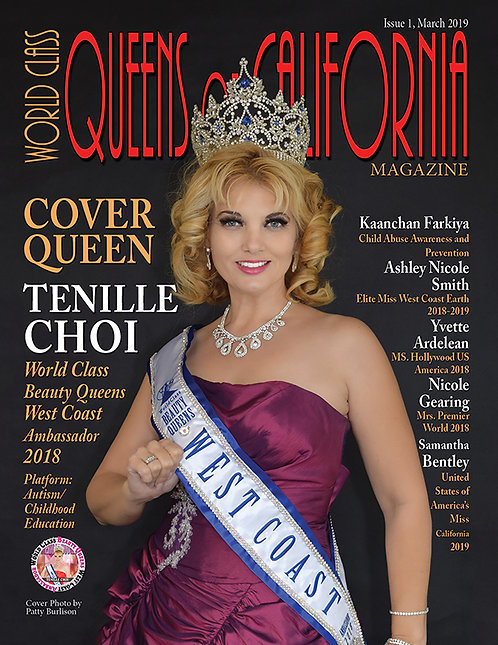 Issue 1 World Class Queens of California Magazine