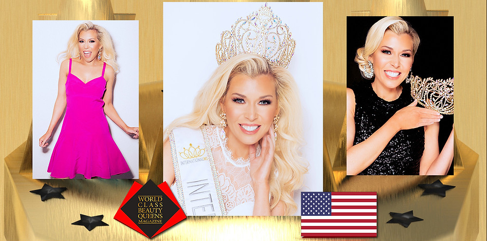 Corinne Celeste Devin International Ms. 2020, World Class Beauty Queens Magazine, Photo by Charlotte Clemie Photography