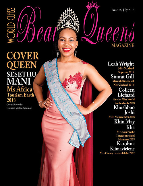 Issue 76 World Class Beauty Queens Magazine
