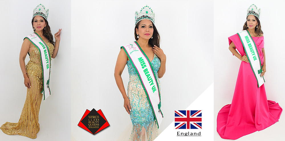 Liza Laure Miss Beauty UK Classic Woman 2019, World Class Beauty Queens Magazine,