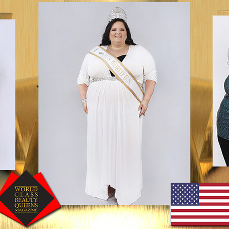 Jessica Edwards Miss U.S. Plus World 2020
