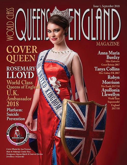 Issue 1 World Class Queens of England Magazine