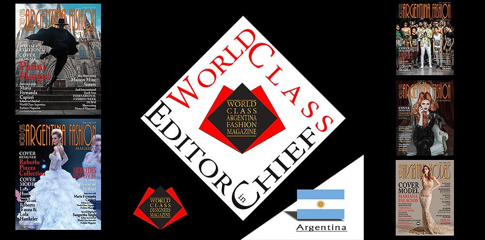 2018 Editor in Chief of the Year, Maria Fernanda Capicci, World Class Brand