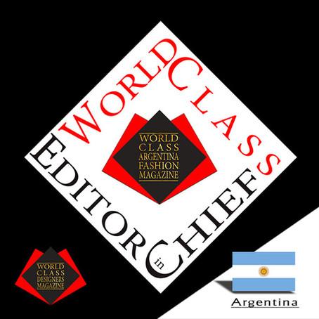 2018 World Class Editor in Chief of the Year Maria Fernanda Capicci