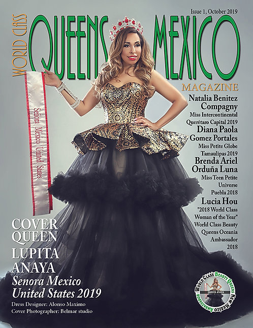 Issue 1 World Class Queens of Mexico Magazine