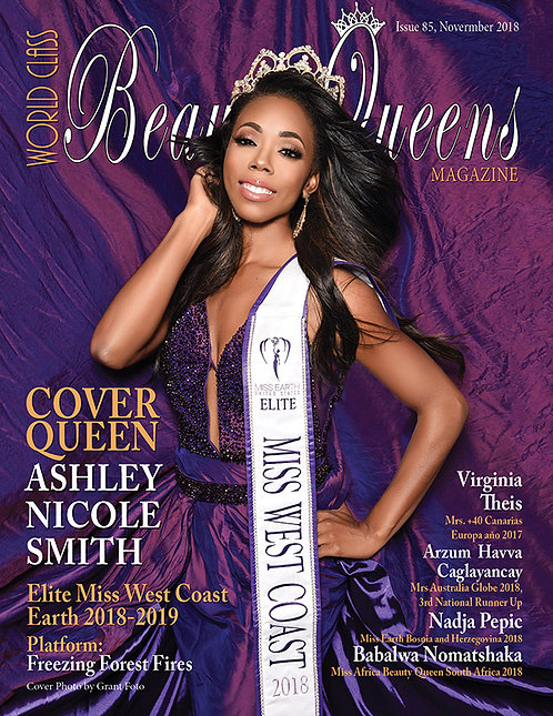 Issue 85 World Class Beauty Queens Magazine