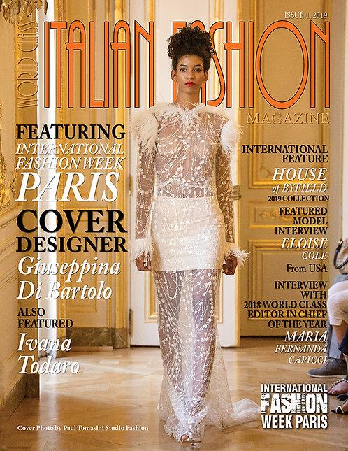Issue 1 World Class Italian Fashion Magazine