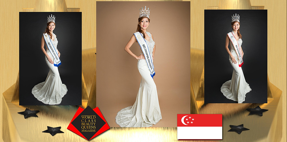 Vivian Passion Koh Mrs Singapore Asia Pacific 2019, World Class Beauty Queens Magazine,