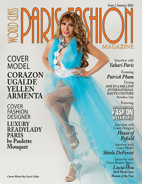 Issue 2 World Class Paris Fashion Magazine