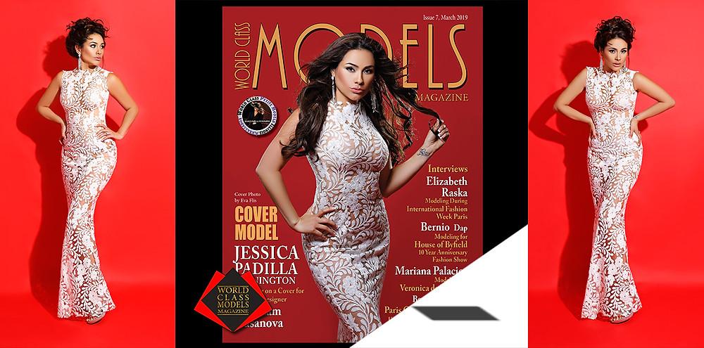 Jessica Padilla Pennington, World Class Models Magazine, Photo by Eva Flis Photography,