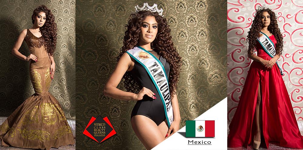 Diana Paola Gomez Portales Miss Petite Globe Tamaulipas 2019, World Class Beauty Queens Magazine,