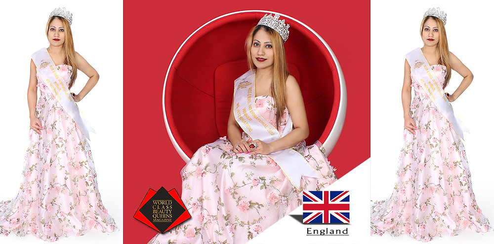 Anindita Ghosh Ms International 2018, World Class Beauty Queens Magazine,