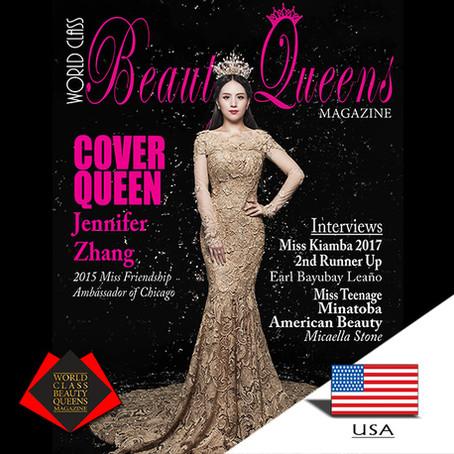 Jennifer Zhang 2015 Miss Friendship Ambassador of Chicago