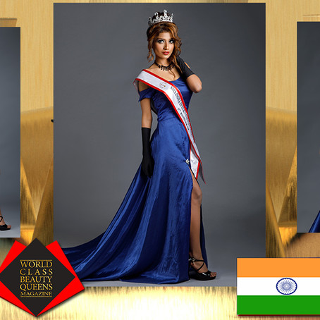 Rajni Jha Mrs India International Queen 2020 2nd R.U.