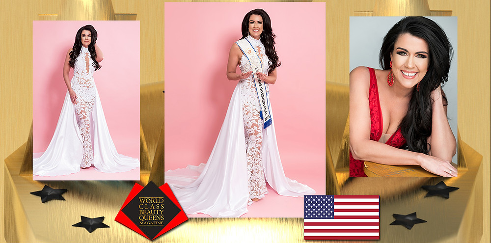 Kristi Wischnack TKS Elite Mrs International 2019, World Class Beauty Queens Magazine,