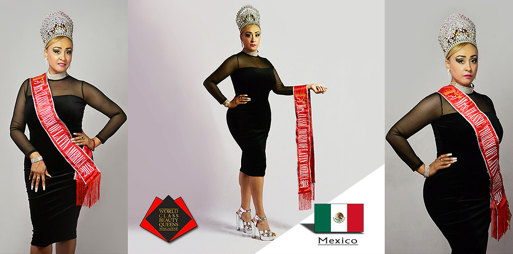 Sandra Santacruz Ávila, Mrs. Classic Tourism of Latin America 2018, World Class Beauty Queens Magazine,