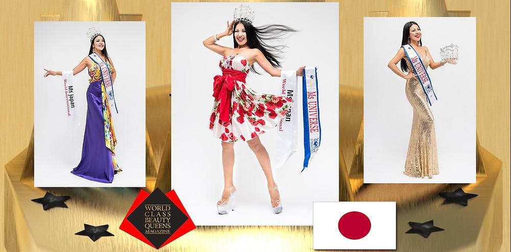 Takayo Quintanarcruz Ms Universe Pro 2019, World Class Beauty Queens Magazine,